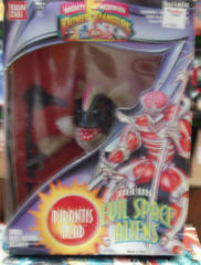 Mighty Morphin Power Rangers, Deluxe Evil Space Aliens Pirantis Head © 1994