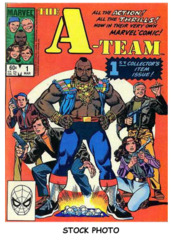 A-Team #1 © March 1984 Marvel Comics