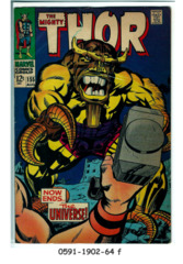 Thor #155 © August 1968 Marvel Comics