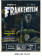 Castle of Frankenstein #02 © 1962 Gothic Castle