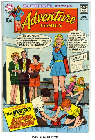 ADVENTURE COMICS #396 © 1970 DC Comics