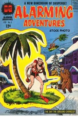 Alarming Adventures #3 © 1963 Harvey Comics