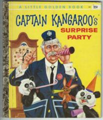Captain Kangaroo's Surprise Party © 1958 Little Golden Book #341