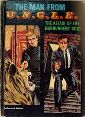 MAN FROM UNCLE The Affair of the Gunrunners' Gold © 1967 Whitman 1543