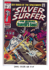 The Silver Surfer #09 © October 1969, Marvel Comics