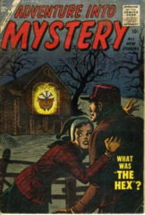 ADVENTURE INTO MYSTERY #4 © 1956 Atlas Comics