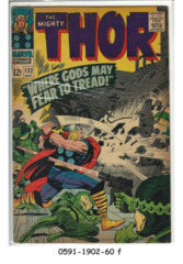 THOR #132 © September 1966 Marvel Comics