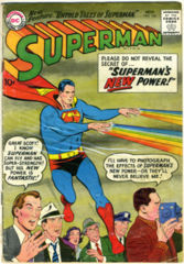 SUPERMAN #125 © November 1958 DC Comics