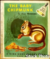 Ding Dong School The Baby Chipmunk © 1953, Rand McNally #20
