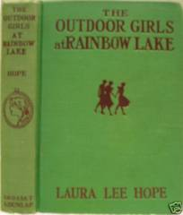 OUTDOOR GIRLS at RAINBOW LAKE © 1913 Laura Lee Hope