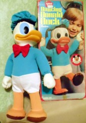 DANCING DONALD DUCK © 1978 Hasbro, Walt Disney, Romper Room