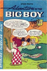 Adventures of the Big Boy #175 © 1971