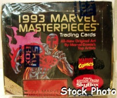 1993 Marvel Masterpiece Comic Cards © Skybox