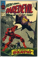 DAREDEVIL #020 © September 1966 Marvel Comics
