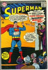 SUPERMAN #185 © April 1966 DC Comics