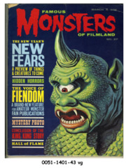 Famous Monsters of Filmland #027 © March 1964 Warren Publishing