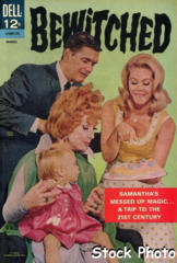 Bewitched #08 © March 1967 Dell