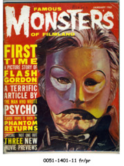 Famous Monsters of Filmland #010 © January 1961 Central/Warren Publishing