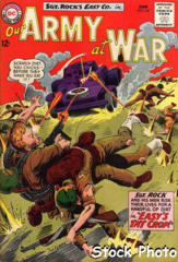 Our Army at War #143 © June 1964 DC Comics