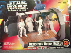 Power Of The Force Detention Block Rescue © 1996 Kenner 27598