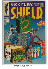 Nick Fury, Agent of SHIELD #01 © June 1968 Marvel Comics