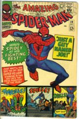 Amazing Spider-Man #038 © July 1966 Marvel Comics