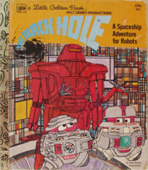 Walt Disney's THE BLACK HOLE A SPACE ADVENTURE FOR ROBOTS © 1979 LGB