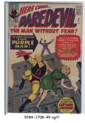 Daredevil #004 © October 1964 Marvel Comics