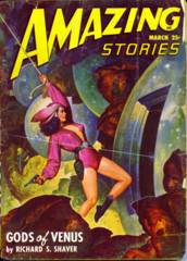 AMAZING STORIES Pulp Novel V22#3 © 1948