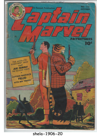 Captain Marvel Adventures #113 © October 1950, Fawcett