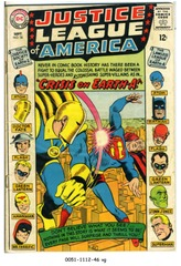JUSTICE LEAGUE of AMERICA #038 © 1965 DC Comics