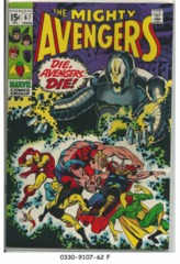 The AVENGERS #067 © August 1969 Marvel Comics