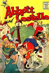 Abbott and Costello Comics #34 © 1955 St. Johns