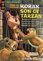 Korak, Son of Tarzan #14 © September 1966 Gold Key