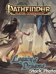 Pathfinder Player Companion: Legacy of Dragons © 2016 PZO 9470