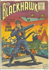 BLACKHAWK v1#102 © July 1956 Quality Comics