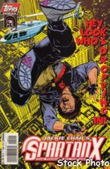 Jackie Chan's Spartan X: The Armour of Heaven #2 © June 1997 Topps Comics