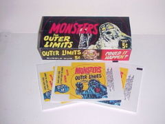 Outer Limits © 1964 Topps