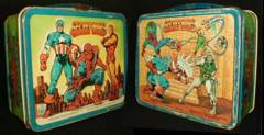 Marvel SECRET WARS Lunch Box © 1984 Aladdin