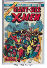 Giant-Size X-Men #1 © May 1975, Marvel Comics
