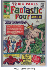 Fantastic Four Annual #01 © September 1963, Marvel Comics