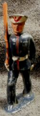 Marine in Dress Uniform Marching, Barclay 722 Lead Soldier