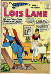 SUPERMAN'S GIRL FRIEND LOIS LANE #019 © August 1960 DC Comics