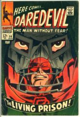 DAREDEVIL #038 © March 1968 Marvel Comics