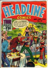 Headline Comics #61 © September-October 1953 Prize Group