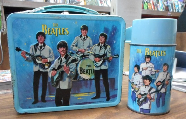 The Beatles Lunch Box w/ Thermos © 1965 Aladdin