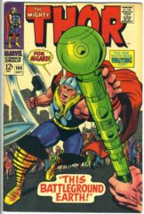 THOR #144 © September 1967 Marvel Comics