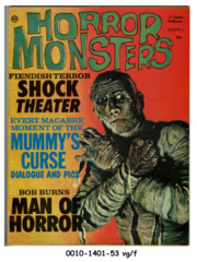 Horror Monsters #04 © 1962 Charlton Publications