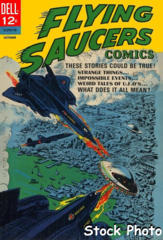 Flying Saucers #3 © October 1967 Dell