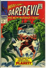 DAREDEVIL #028 © May 1967 Marvel Comics